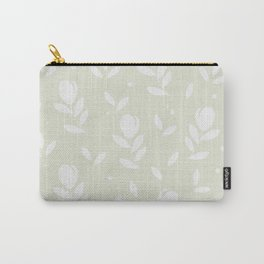 Let it bloom with tulips, floral pattern design Carry-All Pouch