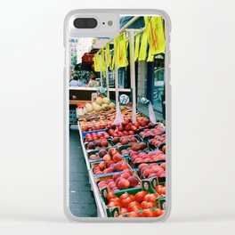 French Markets Clear iPhone Case