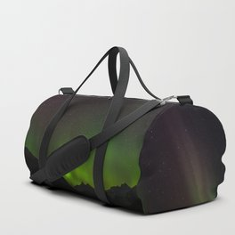 Northern Lights in Norway 01 Duffle Bag