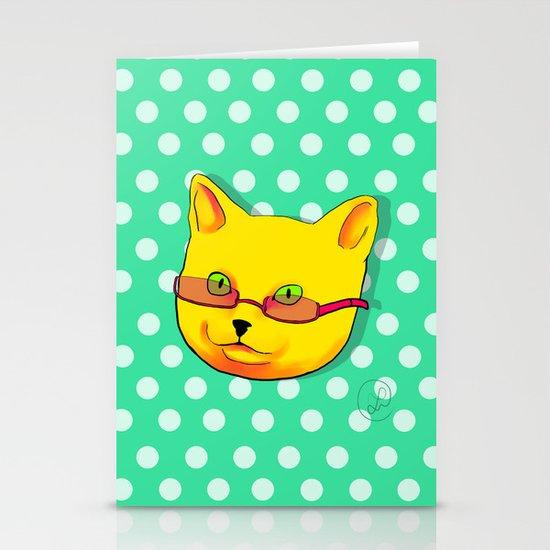 Pop Cat Stationery Cards