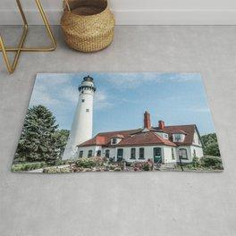 Wind Point Lighthouse 2 Rug