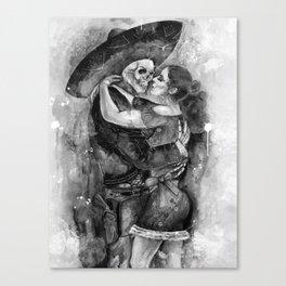 "Un Ultimo Baile ""Shadow"" version Canvas Print"