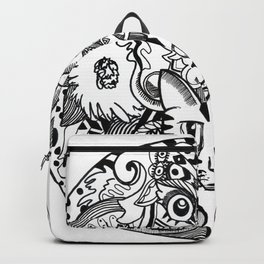 Cat Eyes Backpack