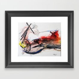 Quixote La Mancha Framed Art Print