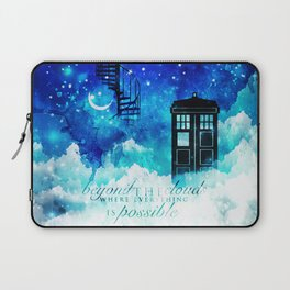 Beyond the clouds | Doctor Who Laptop Sleeve