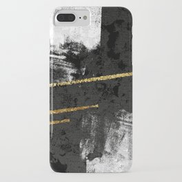 Gilded Grit iPhone Case