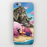 steven universe iPhone & iPod Skins featuring Steven Universe by toibi