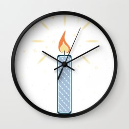 Candle Wall Clock