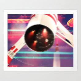 Experiencing Motion Art Print