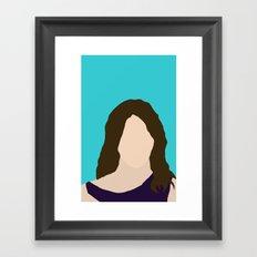 Robin Scherbatsky HIMYM Framed Art Print