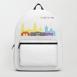 Guadalajara skyline pop Backpack