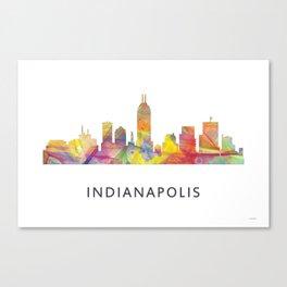 Indianapolis Indiana  Skyline WB1 Canvas Print