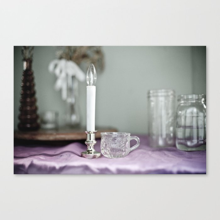 For the Woman Alone Canvas Print
