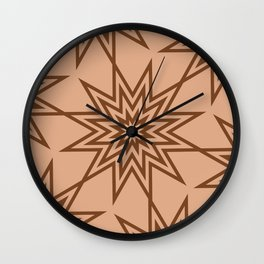 Op Art 164 Wall Clock