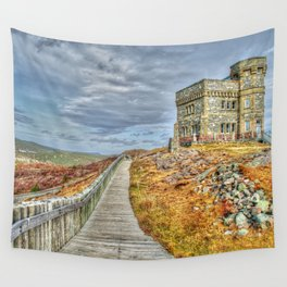 Cabot tower Wall Tapestry