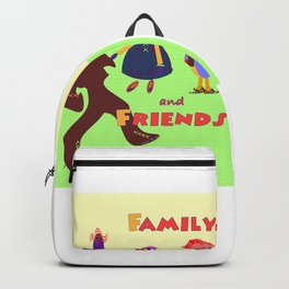FAMILY AND FRIENDS Backpack