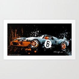 FORD GT40 MK1 Art Print