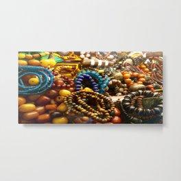 assortment of beads - Tianzifang, Shanghai Metal Print