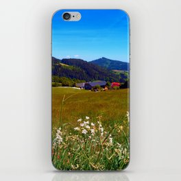 Wallflowers with no wall iPhone Skin