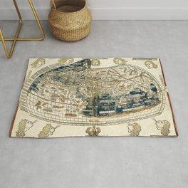 World Map 1482 Rug