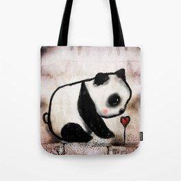 Baby panda love Tote Bag