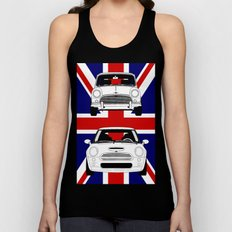 Mini, new and old Unisex Tank Top