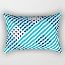 Artis 1.0, No.38 in Warm Blue Rectangular Pillow