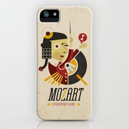 Mozart - Stereophonic Sound   iPhone Case