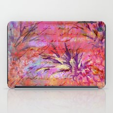 Pineappel tropical fruit colorful illustration iPad Case