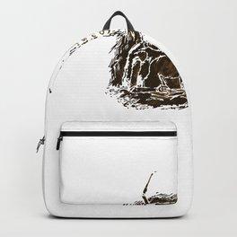 Gigantic Human Backpack