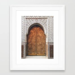 Golden Door Framed Art Print