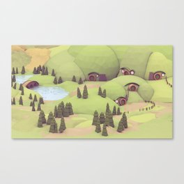 House Holes Canvas Print
