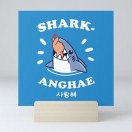 SHARK-ANGHAE Mini Art Print