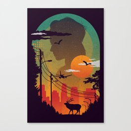 Transitions Canvas Print