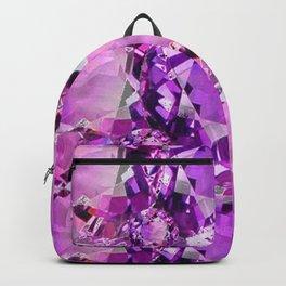 LILAC PURPLE AMETHYST FEBRUARY GEM BIRTHSTONE Backpack