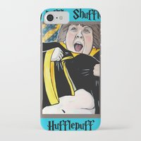hufflepuff iPhone & iPod Cases featuring Truffle Shuffle Hufflepuff by Portraits on the Periphery