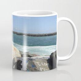 ocean calling me home Coffee Mug