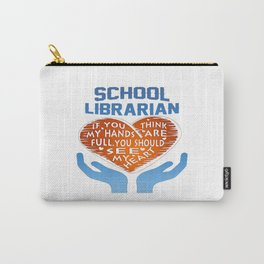 School Librarian Carry-All Pouch