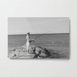 Fisher man Metal Print