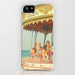 Seaside Carousel iPhone Case