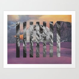 Cancer in Chiron Art Print