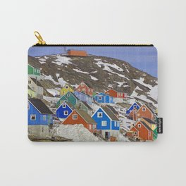 Colourful Houses in Western Greenland Carry-All Pouch