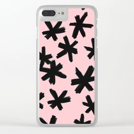 Secret Buttholes - PINK Clear iPhone Case
