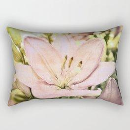 Time to Blossom Rectangular Pillow