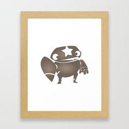minima - slowbot 004 Framed Art Print