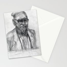The Man With the Look - the Portrait I Stationery Cards