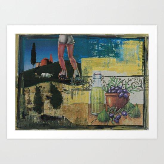 Toscana Art Print