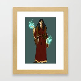 The Siblings: Hel Framed Art Print