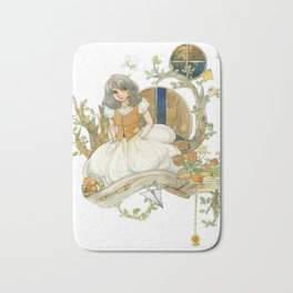 Colourful Seasons in the Forest Beautiful Childhood Fairytale Bath Mat
