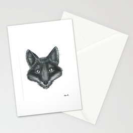 I said, beware of the fox Stationery Cards